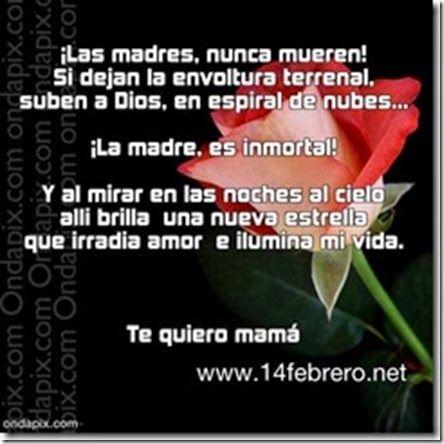 Imagenes Con Frases Para Una Madre Fallecida Que Esta En El Cielo
