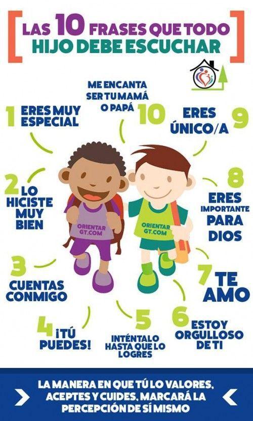 40 Imágenes Con Frases De Motivación Para Niños Fraseshoyorg
