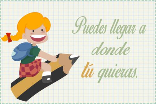 40 Imágenes Con Frases De Motivación Para Niños Fraseshoy Org