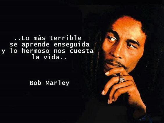 Imágenes Con Frases Hermosas E Inspiradoras De Bob Marley