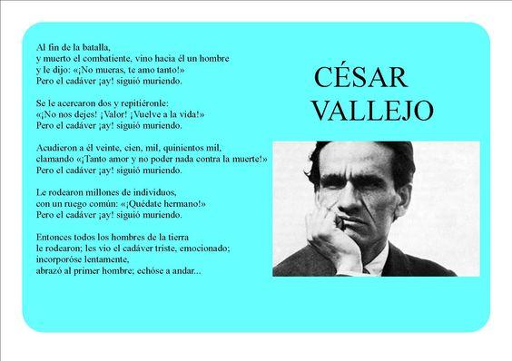 Imágenes Frases Y Poemas De César Vallejo Fraseshoy Org