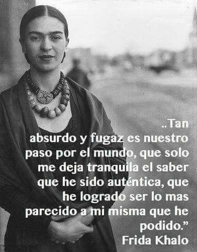 Frases De Frida Kahlo Sobre El Amor El Dolor Y La Vida Fraseshoyorg