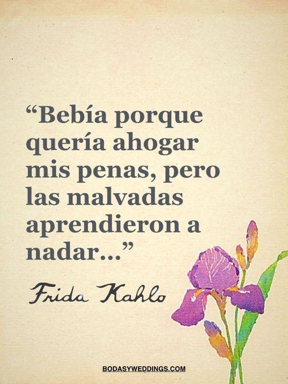 Frases De Frida Kahlo Sobre El Amor El Dolor Y La Vida Fraseshoy Org