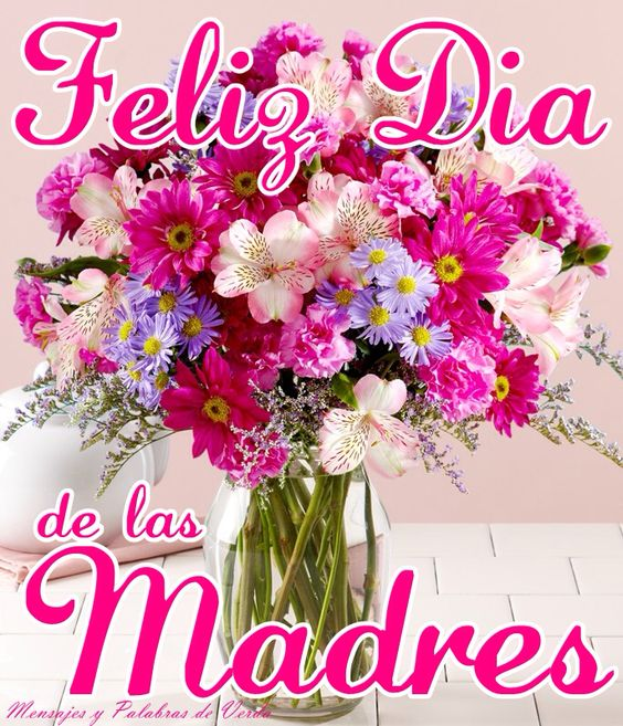 Tarjetas Con Felicitaciones Y Frases Para El Día De La Madre