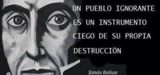 Independencia de Colombia: imágenes, frases y pensamientos de Simon Bolivar