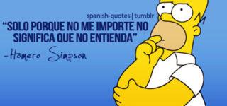 Imágenes de los Simpson con frases inolvidables