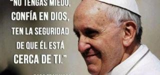 Imágenes con frases del Papa Francisco sobre fe, paz, educación y trabajo