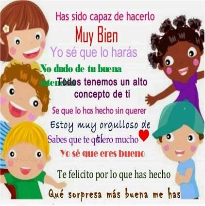 Imágenes Con Frases De Motivación Cortas Para Niños Y