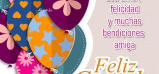 Mensajes y frases de Feliz cumpleaños para una amiga o amigo