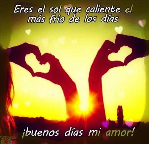 Imagenes Buenos Dias Amor Gratis Frases Hoy
