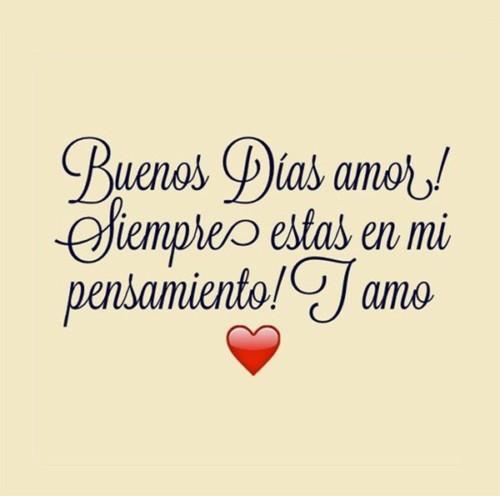 Imagenes Con Frases De Buenos Dias Para Mi Amor Corazon Frases Hoy