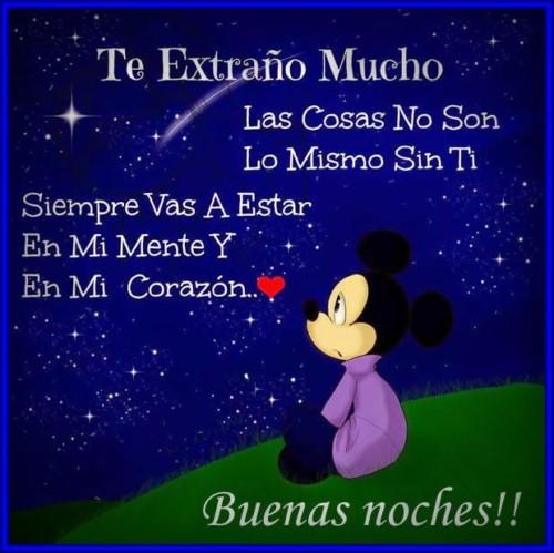 Imagenes De Buenas Noches Mi Amor Te Extrano 1 Frases Hoy