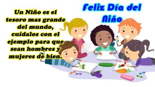 Feliz Dia Del Nino 2019 Imagenes Frases Tarjetas Para Felicitar