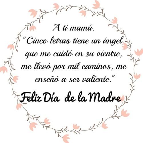 Frases Bonitas A Una Madre Con Dedicatorias Frases Hoy