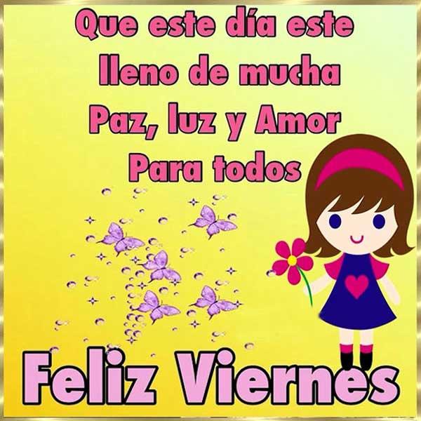 Feliz Viernes Buenos Dias Frases Hoy