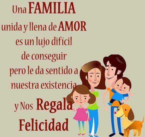 Feliz Día De La Familia 2019 Imágenes Frases Tarjetas