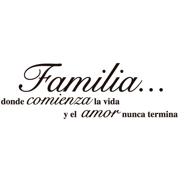 Frase Amor De Familia Frases Hoy