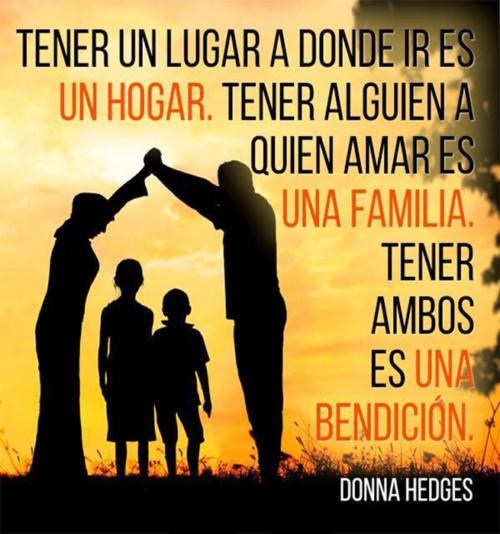 Frases Para Una Familia Unida Hogar Frases Hoy