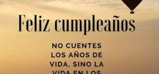 Frases de feliz cumpleaños para el 2020